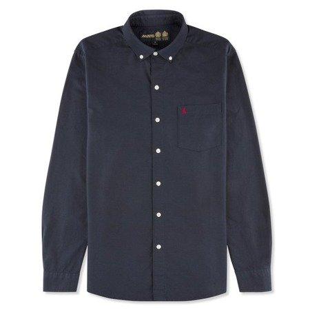 Koszula męska MUSTO AIDEN OXFORD 80684 NAVY