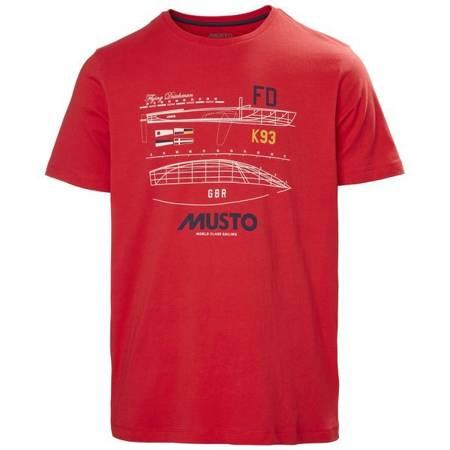 Koszulka męska MUSTO FLYING DUTCHMAN T-SHIRT 81182 169