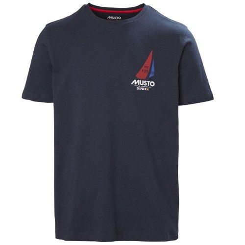 Koszulka męska MUSTO K93-GBR TSHIRT 81184 598