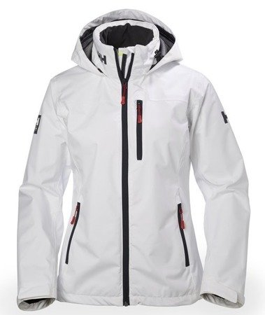 Kurtka HELLY HANSEN W CREW HOODED JKT 33899 001 WHITE