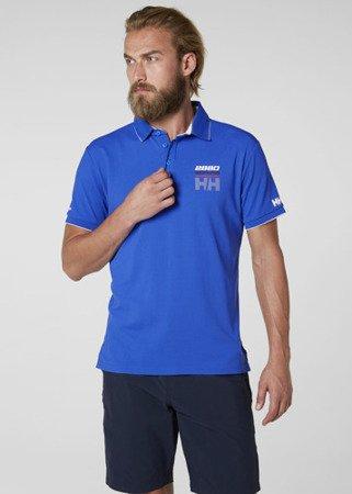 Polo HELLY HANSEN HP RACING 53012 TACTEL niebieski