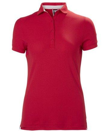 Polo damskie HELLY HANSEN W CREWLINE 53049 czerwone