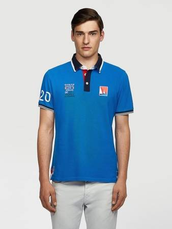 Polo męskie NORTH SAILS SAINT-TROPEZ POLO SHIRT 3326 0760