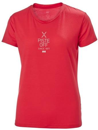 T-shirt damski HELLY HANSEN W SKOG GRAPHIC 62877